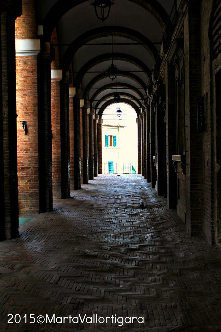 Portico - Marche, Italy Photo by Marta Vallortigara #travelling #photography #tourist