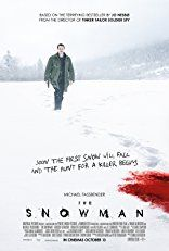 Detective Harry Hole investigates the disappearance of a woman whose pink scarf is found wrapped around an ominous-looking snowman.