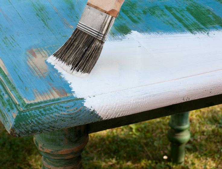 1000 id es sur le th me comment patiner un meuble sur for Peindre sur de la peinture