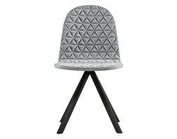 Krzesło Mannequin - 01 black - szary