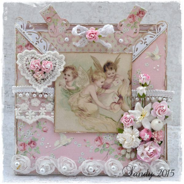 Live & Love Crafts' Inspiration and Challenge Blog: Angels of Paris: