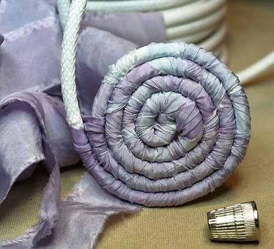 Корзины из ткани от LaurenSn | Я люблю рукоделие