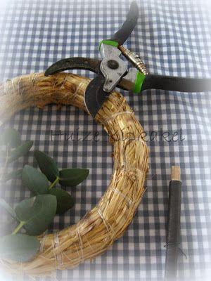 Huize Kipkakel: Eucalyptus...DIY krans maken!