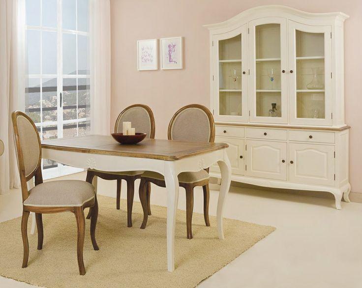 17 mejores im genes sobre white and beige decor en for Paris muebles comedor