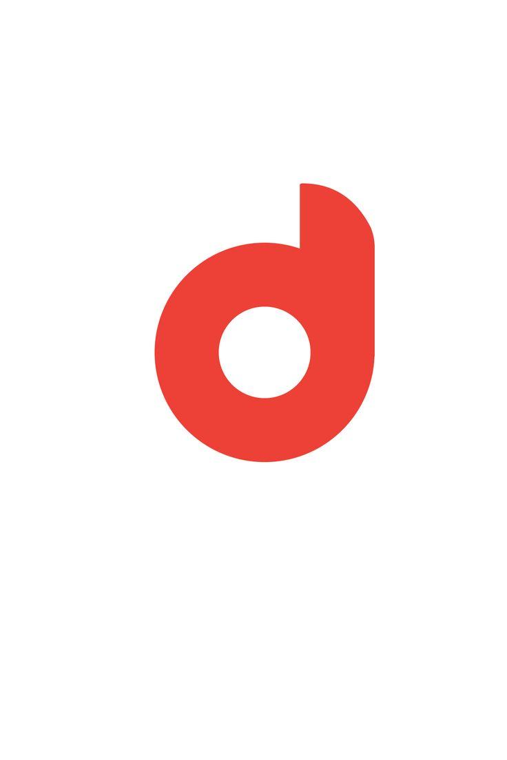 #d #logo #font