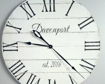 The 25 best Large white wall clock ideas on Pinterest Magnolia