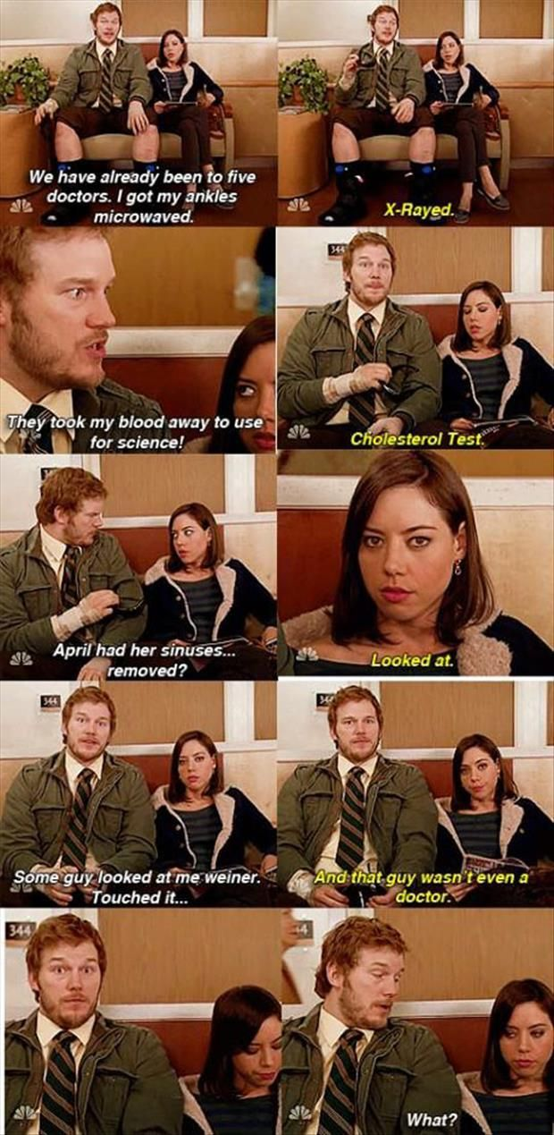 Andy Dwyer and April Ludgate, Parks and Rec