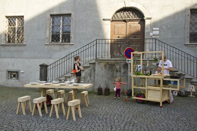 Chmara Rosinke Mobile Gastfreundschaft