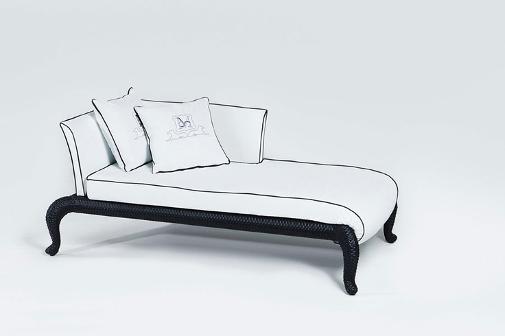 Dolcefarniente outdoor indoor dormeuse Canopo by Samuele Mazza
