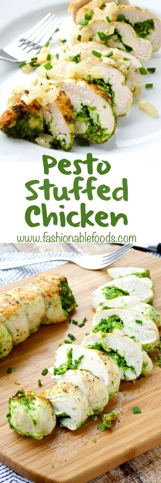 25+ best ideas about Pesto stuffed chicken on Pinterest ...