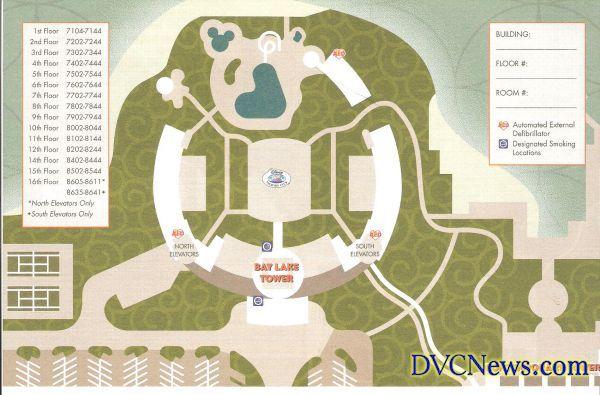 bay lake tower room map Bay Lake Tower Map Disney Contemporary Resort Bay Lake Tower bay lake tower room map