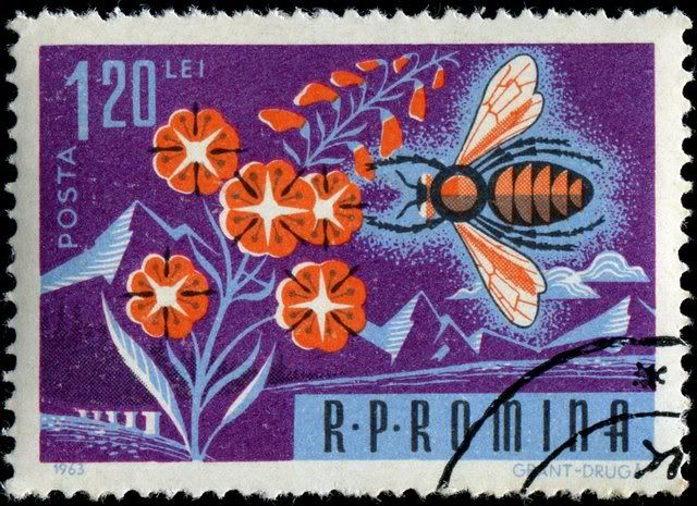 1000+ images about Bee Postage Stamps on Pinterest ... - photo#36