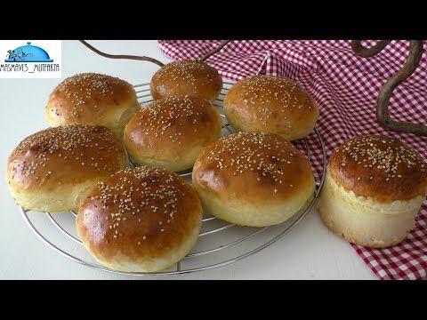 Orjinal Hamburger Ekmeği Yapımı -Mükemmel bir Tarif Pamuk gibi ▪Masmavi3mutfakta Tarifleri ▪ - YouTube