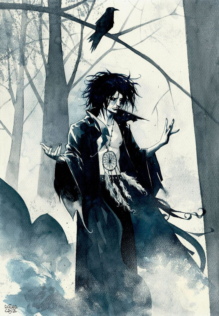 Morpheus/Dream. Neil Gaiman's Sandman - I know that this is technically Vertigo comics, but considering the announcement of new comics to come, I had to pin it. @Alex Jones Eberle