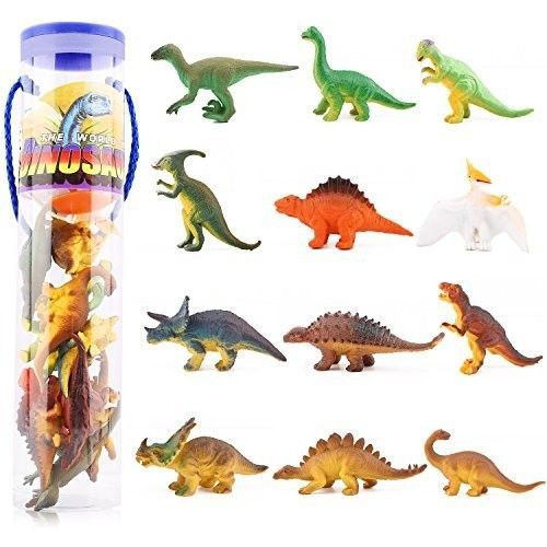 Dinosaur Toy For Kids Toddlers Boys 12 Pcs Small Dinosaur Plastic Figure Dino #OpportunityBestDealMiniDinosaur