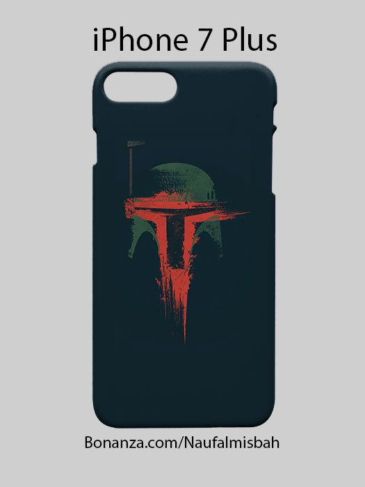 Boba Fett Star Wars iPhone 7 PLUS Case Cover Wrap Around