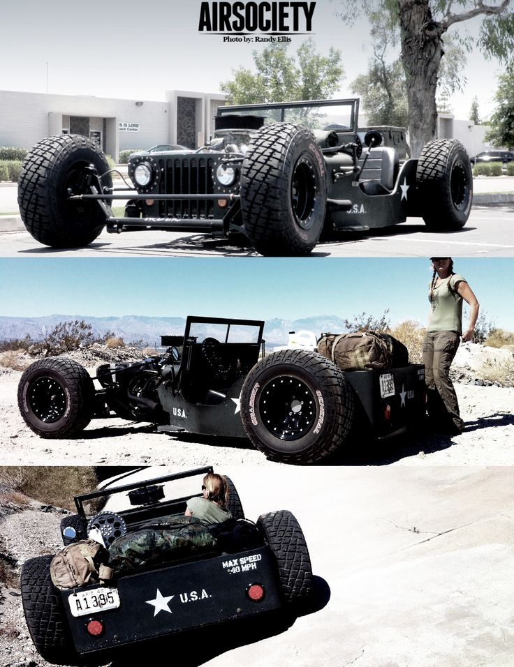 The people over at http://www.airsociety.net have created, by far, one of the most creative and interesting chopped rat rods I have ever seen.  They call it SandStorm.  I want one.