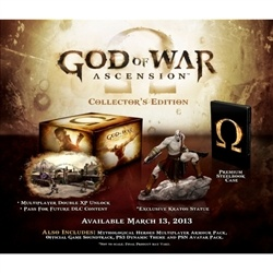 God Of War Ascension Collectors Edition PS3. Pre Order Deal! Released March 13.$129.98 delivered!