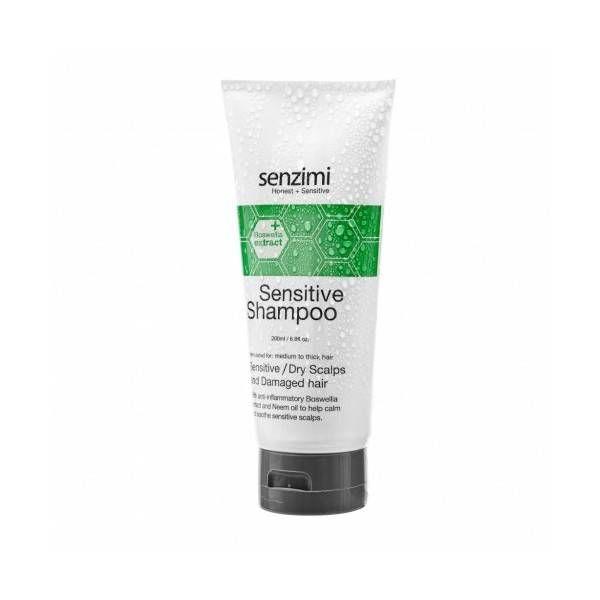 Senzimi  skincare Senzimi Sensitive Shampoo droge gevoelige hoofdhuid