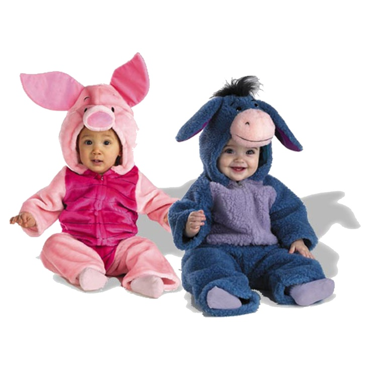 6b2f3665bb16 Take A Trip Into The Hundred Acre Woods With Winnie The Pooh Pals Eeyore  And Piglet Any Time With These Plush Costumes From Disney. Sc 1 St Pinterest