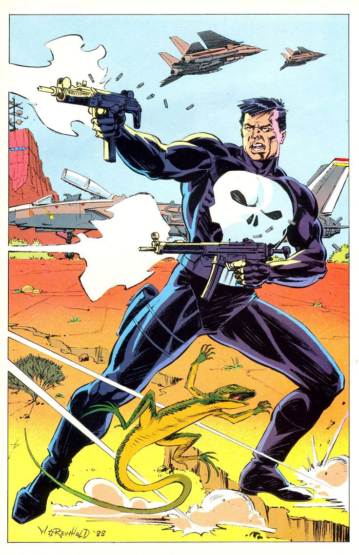 """Punisher by Bill Reinhold ** ** """"Feel free to share on"""