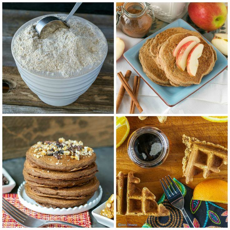 Whisk up a batch of this versatile, adaptable Multigrain Pancake & Waffle Mix, then store it in your refrigerator until you are ready to make a delicious, healthy plant-based breakfast.