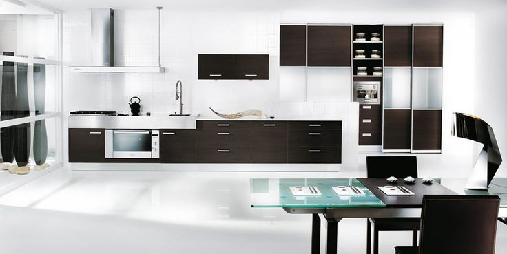 Perfect Modern White And Black Kitchen Base Cabinets With Upper In