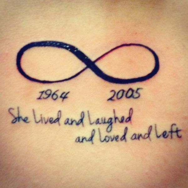 Infinity Sign with a Quote