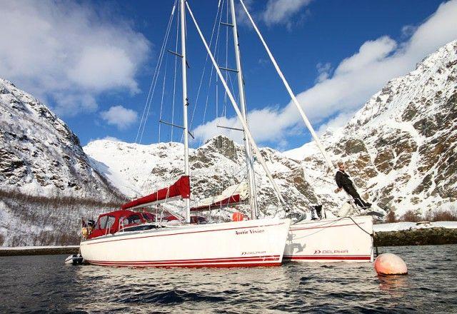 Ski by boat in Lyngen, Lofoten and Svalbard :