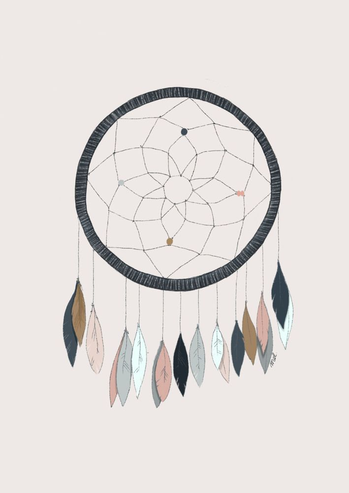 Image of Affiche Dreamcatcher