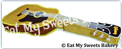 Specialty Cake- Life Size Guitar
