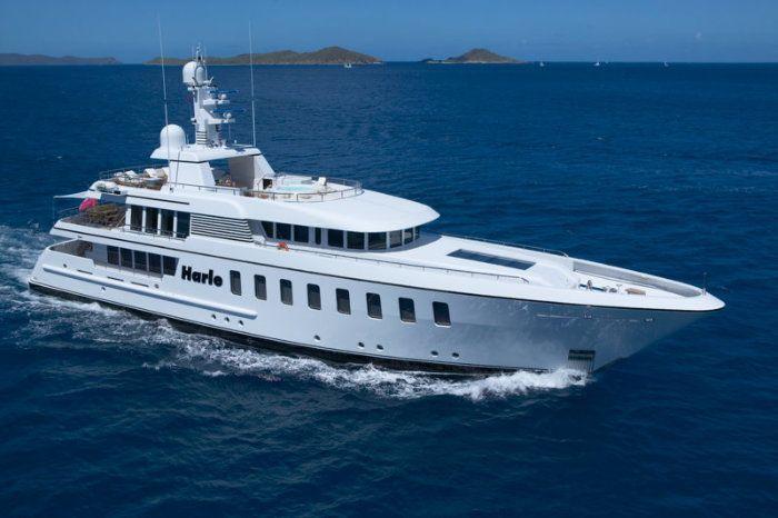 Luxury Crewed Motor Yacht HARLE - Feadship 146 - 6 Cabins - French Riviera - Monaco - Antigua - Windward Islands - Leeward Islands