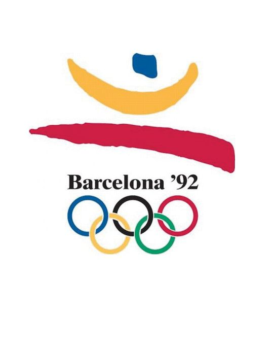 1992 Barcelona Olympic poster