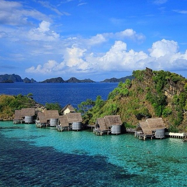 Island blues in Raja Ampat, Indonesia. Photo courtesy of sassychris1 on Instagram.