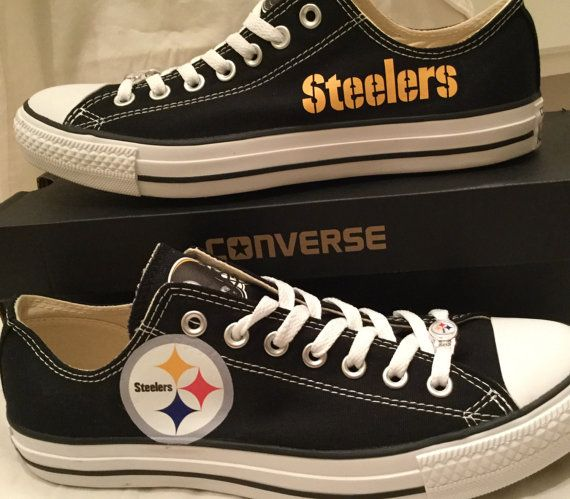 511918b9027 Pittsburg Steelers Converse Chuck Taylor Custom by PimpMyKickz ...