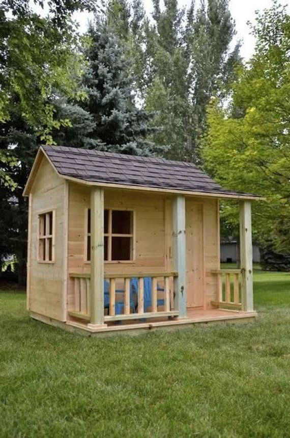 Build Your Own Shed Or Playhouse For The Kids Diy Plans Fun To Build Cubby Play Houses Backyard Storage Sheds Build A Playhouse