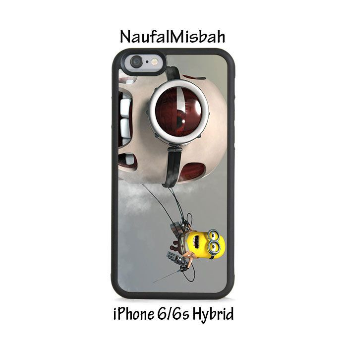 Shingeki No Despicable Me Minion iPhone 6/6s HYBRID Case Cover