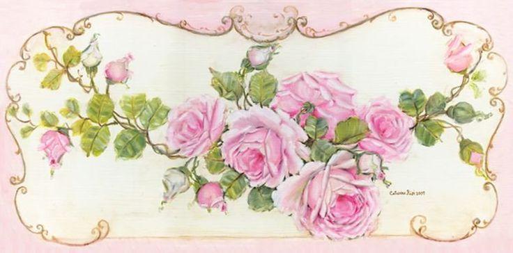 романтические розы в живописи catherine risi - Самое интересное в блогах