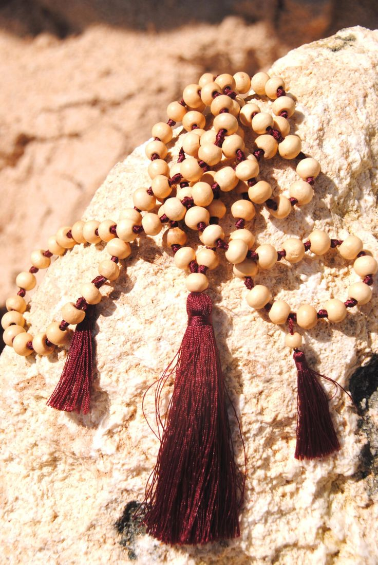 A personal favorite from my Etsy shop https://www.etsy.com/listing/455535546/bordeaux-balangan-mala-yoga-praying-mala