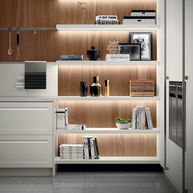 12 Bright Ideas From Sleek Italian Kitchens Kitchen Innovation White Modern Kitchen Black Kitchen Cabinets