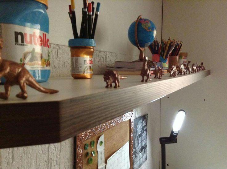 Simples dinossauros de brinquedo viraram peças lindas de decoração