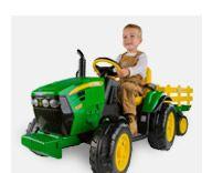 John Deere Ride-On Tractors & Wagons - John Deere Toys, Hats, Shirts, Replicas, and Merchandise