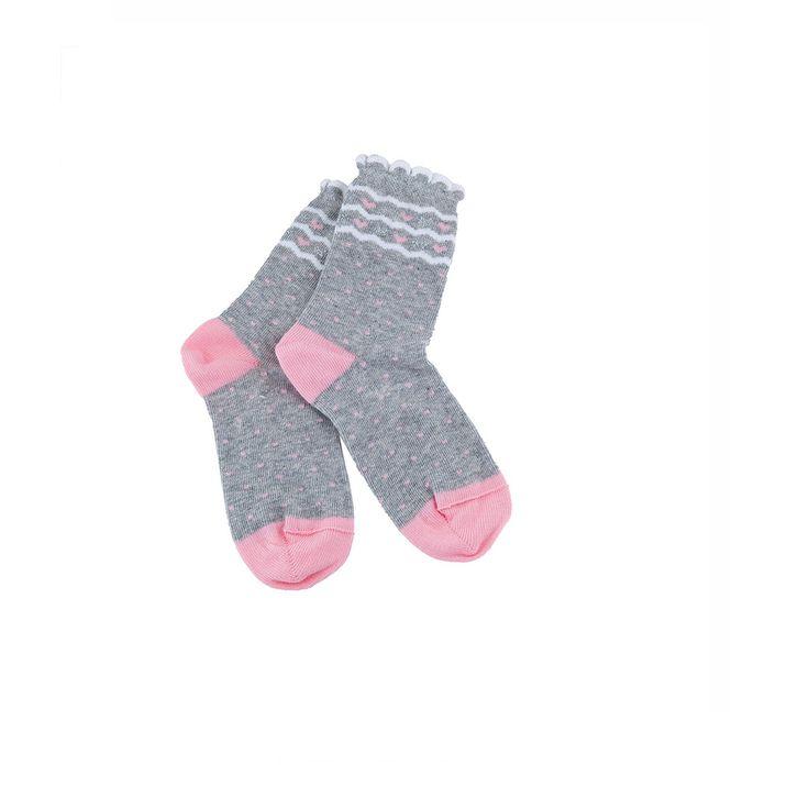 Παιδικά καλτσάκια με συνθεση: Βαμβάκι 85%, Πολυαμίδιο 12%, Ελαστάν 3% #παιδικό #ρούχο #παιδική #κάλτσα #παιδιά #κάλτσες #παιδικές #κορίτσια #κορίτσι