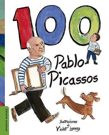 Descubre la vida y la obra de Pablo Picasso, uno de los artistas más importantes de todos los tiempos. Y cuenta hasta 100 Pablo Picassos, representados entre las obras del genial artista. Este libro muestra la vida de Picasso de una manera muy original y divertida.  Los niños explorarán la vida del artista desde su infancia, sus grandes contribuciones al arte moderno, su amor por los animales domésticos y su infinita curiosidad sobre la vida. (a partir de 6 años)