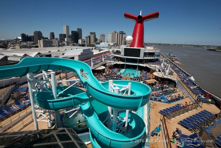 See inside the Carnival Triumph, now sailing 4 & 5-day trips to Mexico from #NOLA New Orleans!
