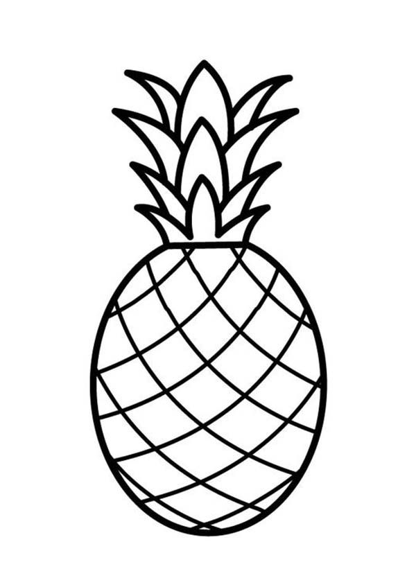 Pineapple Coloring Page Free Online Printable Pages Sheets For Kids Get The Latest Images Favorite