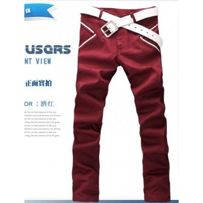 Vogue Oblique Pockets Long Trousers  $32.43