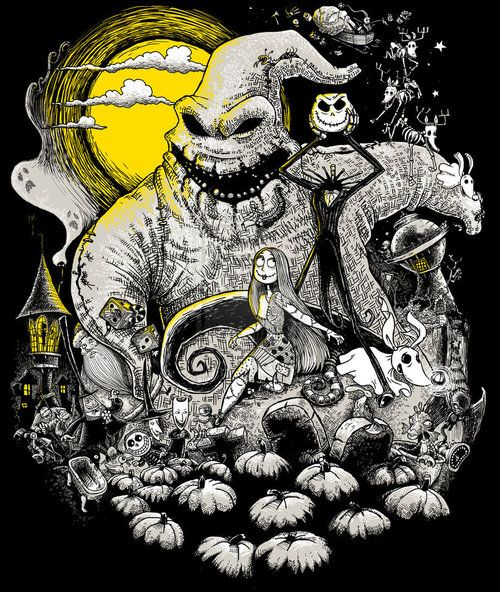 *OOGIE BOOGIE & JACK SKELLINGTON ~ The Nightmare Before Christmas, 1993