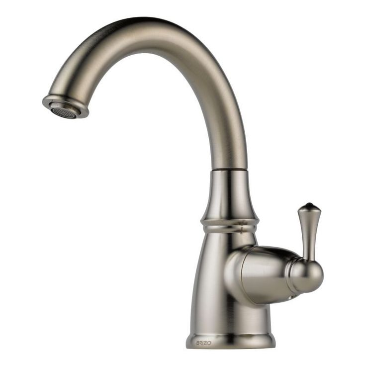Brizo 61310LF Traditional Beverage Faucet that Works with RO Systems Filtered W Stainless Faucet Water Dispenser Cold Only