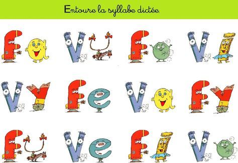 Satilu - L'école à la maison dictée de sons à consonnes longues